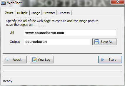 عکس گرفتن از صفحات سایت با WebShot 1.8.0.0